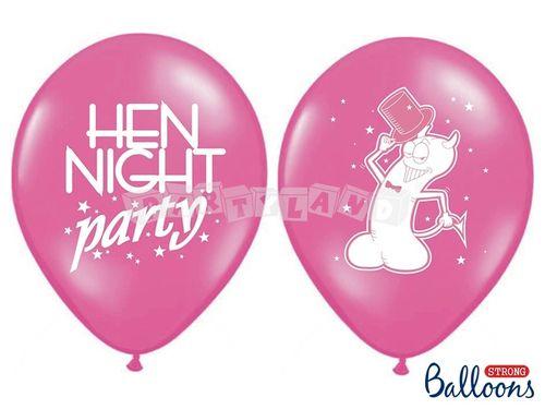 Ružový pastelový balón - rozlúčka so slobodou