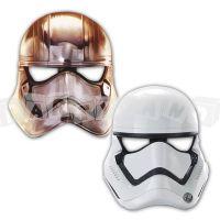Star Wars papierové masky, 6 ks