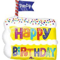 Torta Všetko najlepsie 53 cm fóliový balón