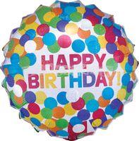 Všetko najlepšie 71 cm fóliový balón